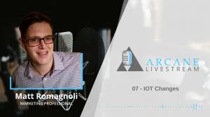 IoT Podcast with Matthew Romagnoli Header