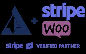 Arcane Stripe Verified and Woo Logo