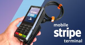 Portable Stripe Terminal Verifone P400
